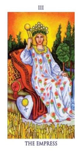 carta tarot emperatriz
