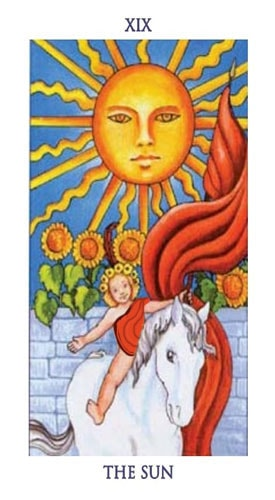carta tarot sol